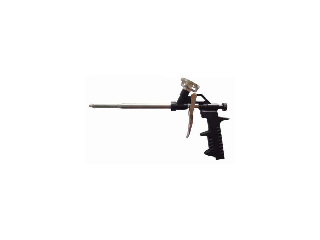 Kovová pistole na pěnu