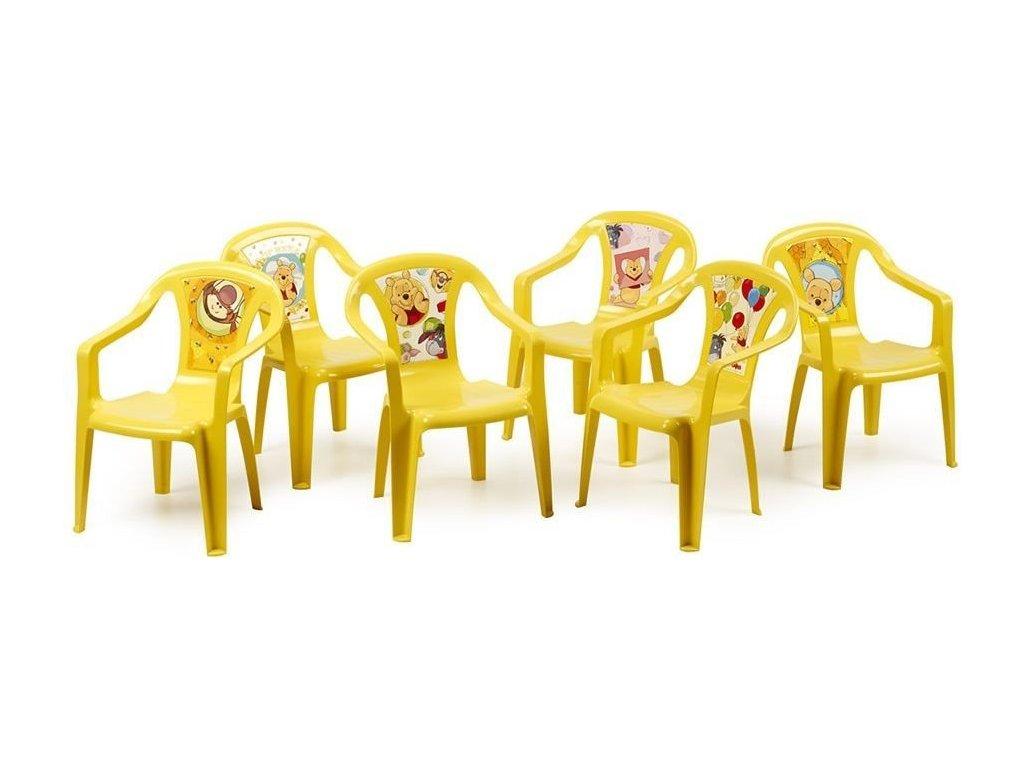 zahradní židlička Medvídek Pú