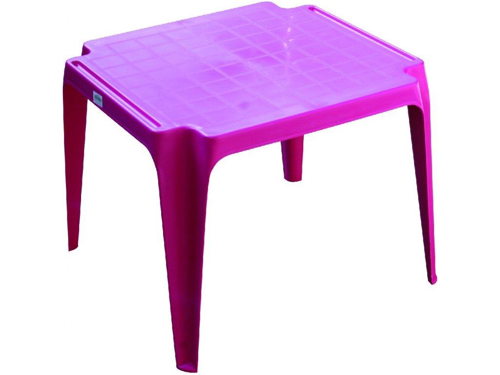 stolek růžový