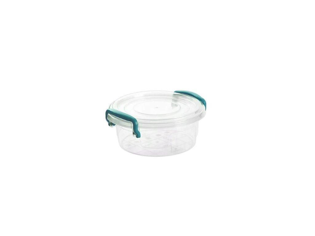 plastový box kulatý