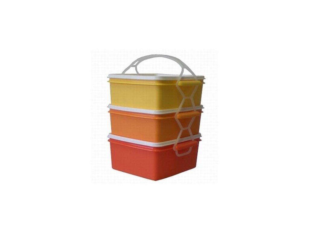 jídlo nosič oranžový