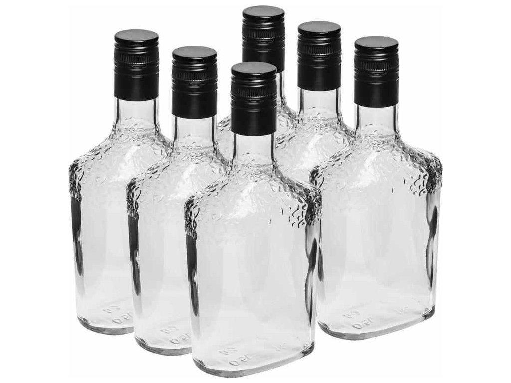 Skleněné láhve 6 x 500 ml