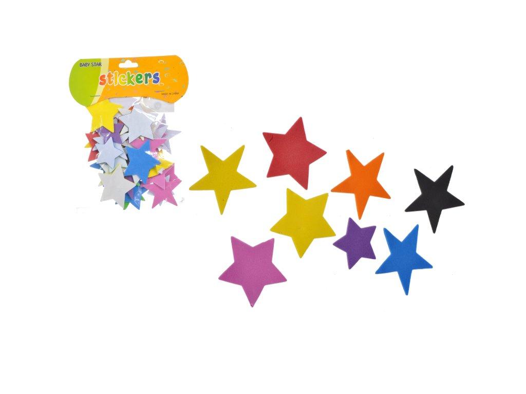 samolepky hvězdy