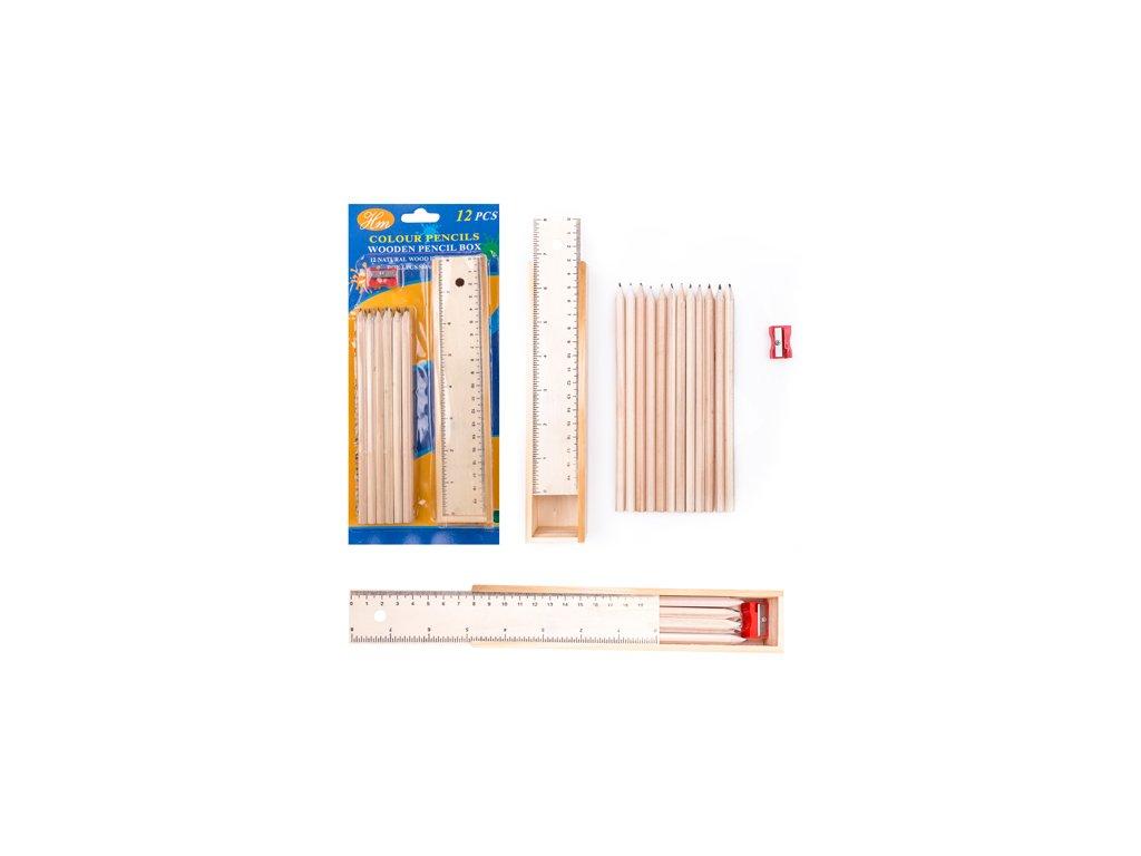 Dřevěné pouzdro tužky
