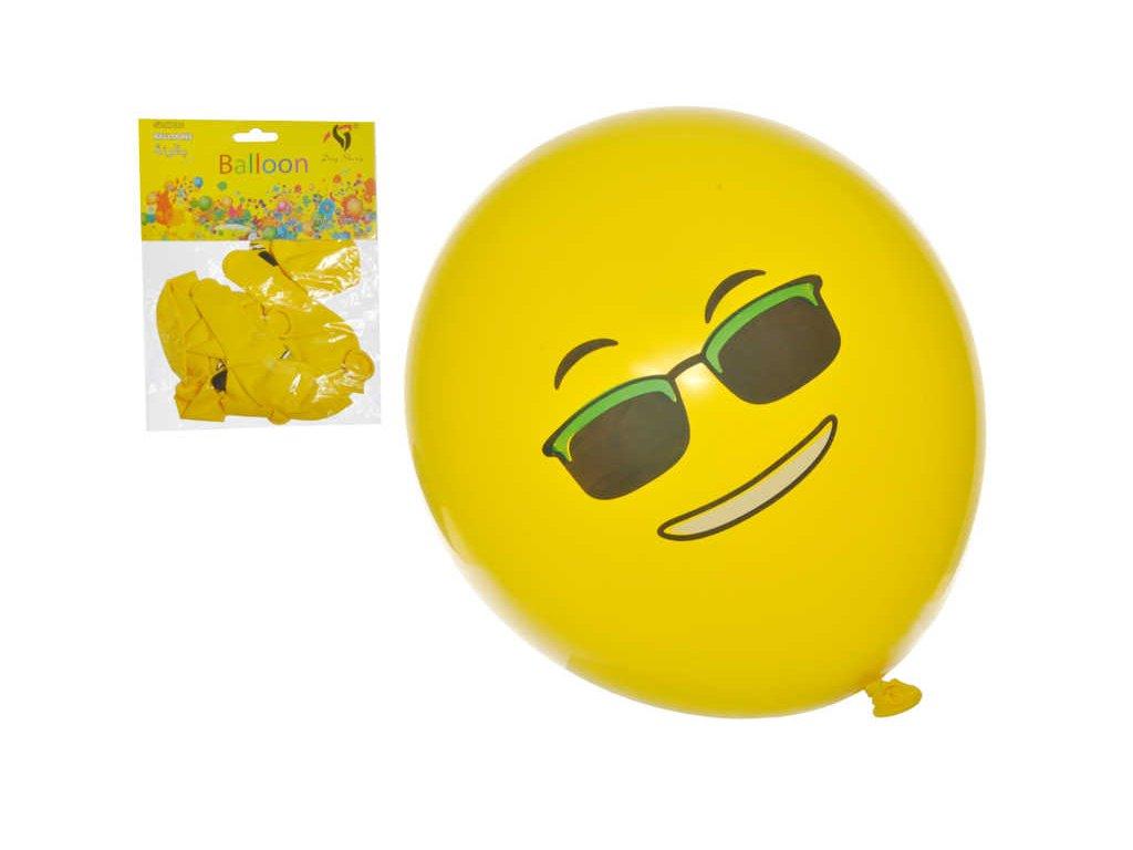 balónky smajlíci