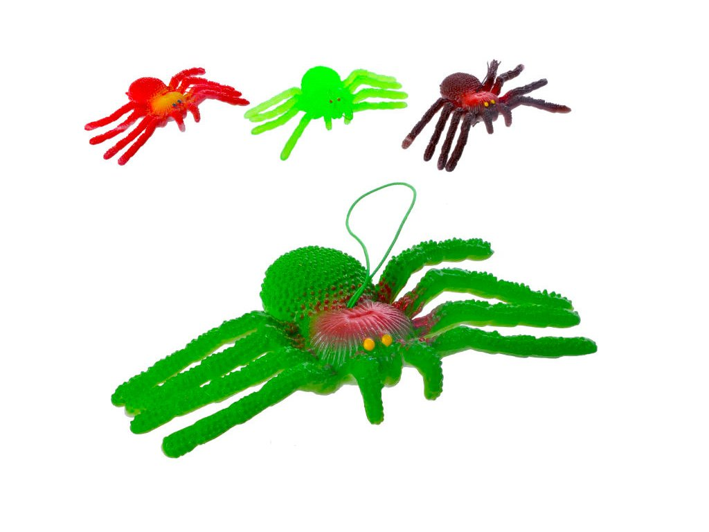 pavouk silikonový
