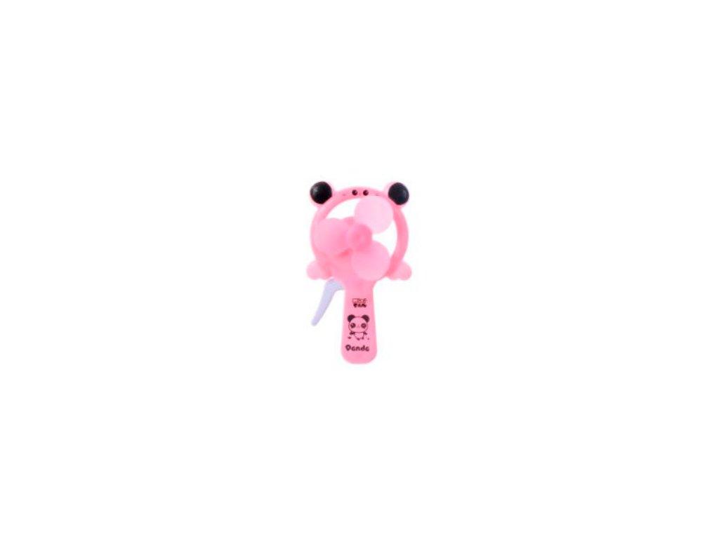 větrník panda růžový
