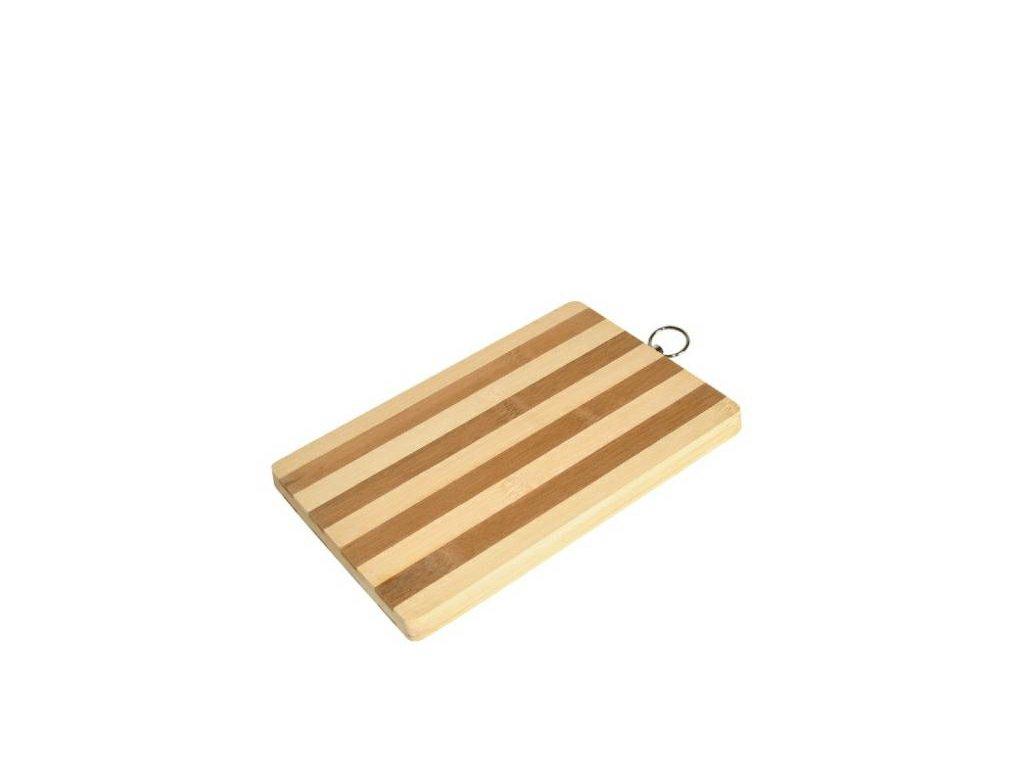 bambusové prkénko závěsné