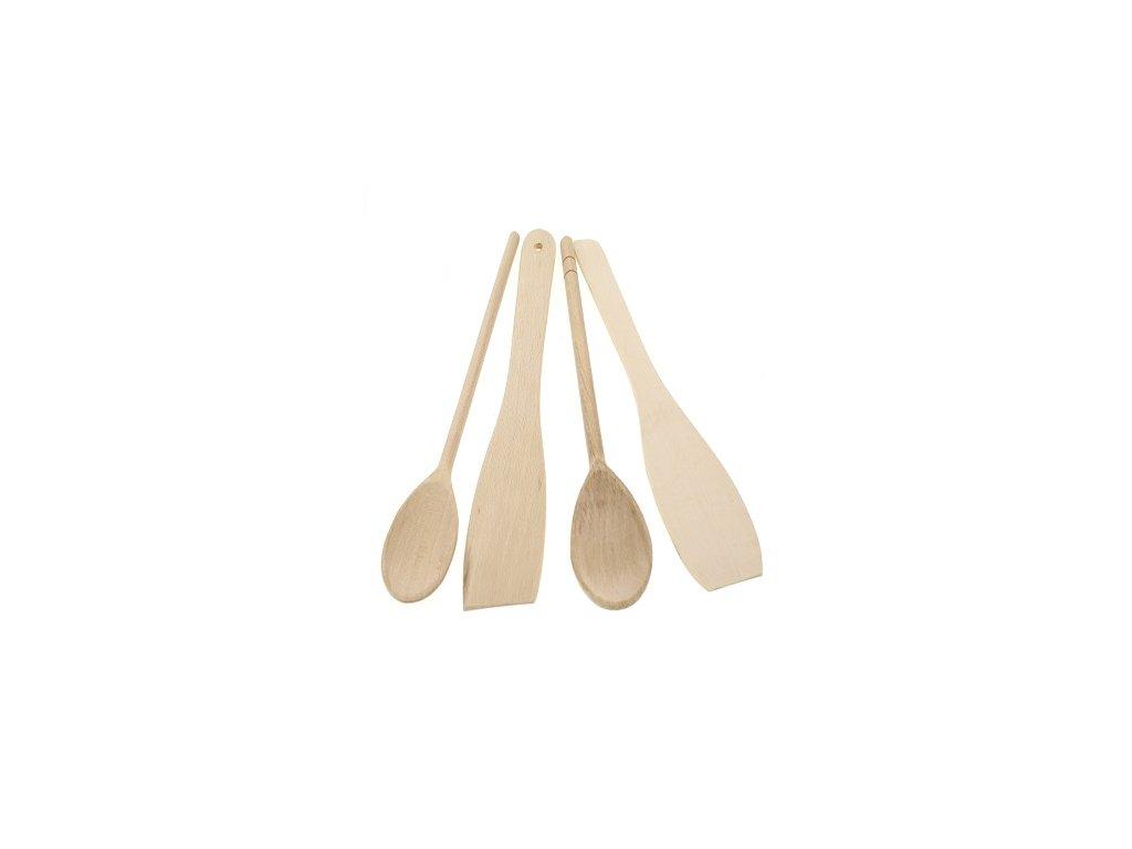 kuchyňské lžíce dřevěné