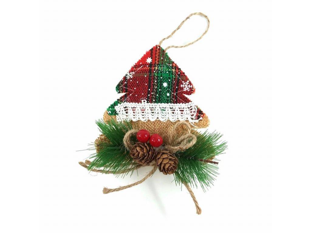 vánoční ozdoba stromeček
