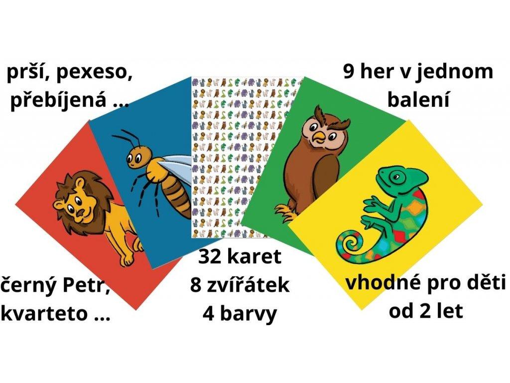 karty dětské