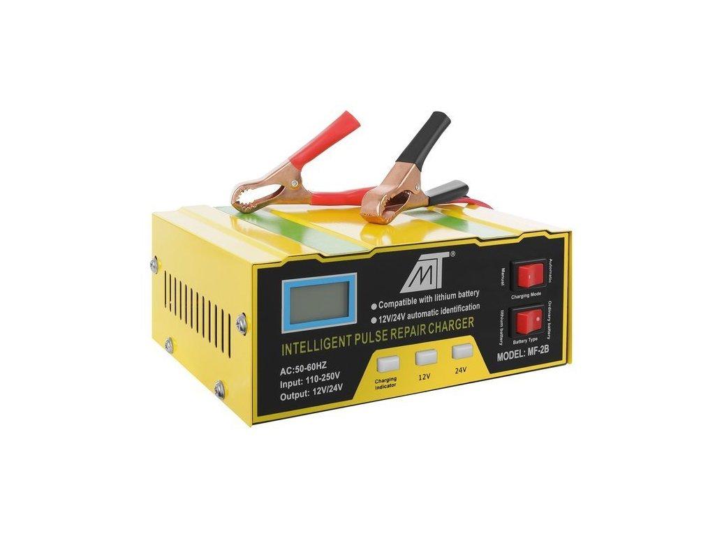 Nabíječka baterií 12 24