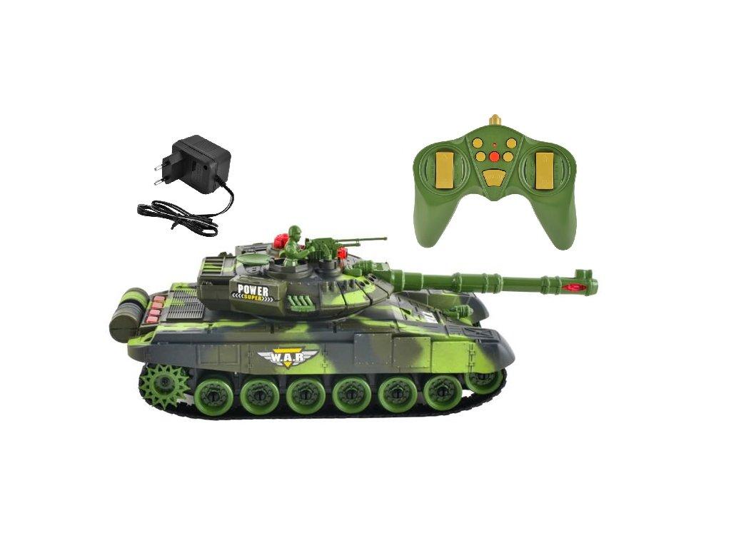 Tank s ovládáním
