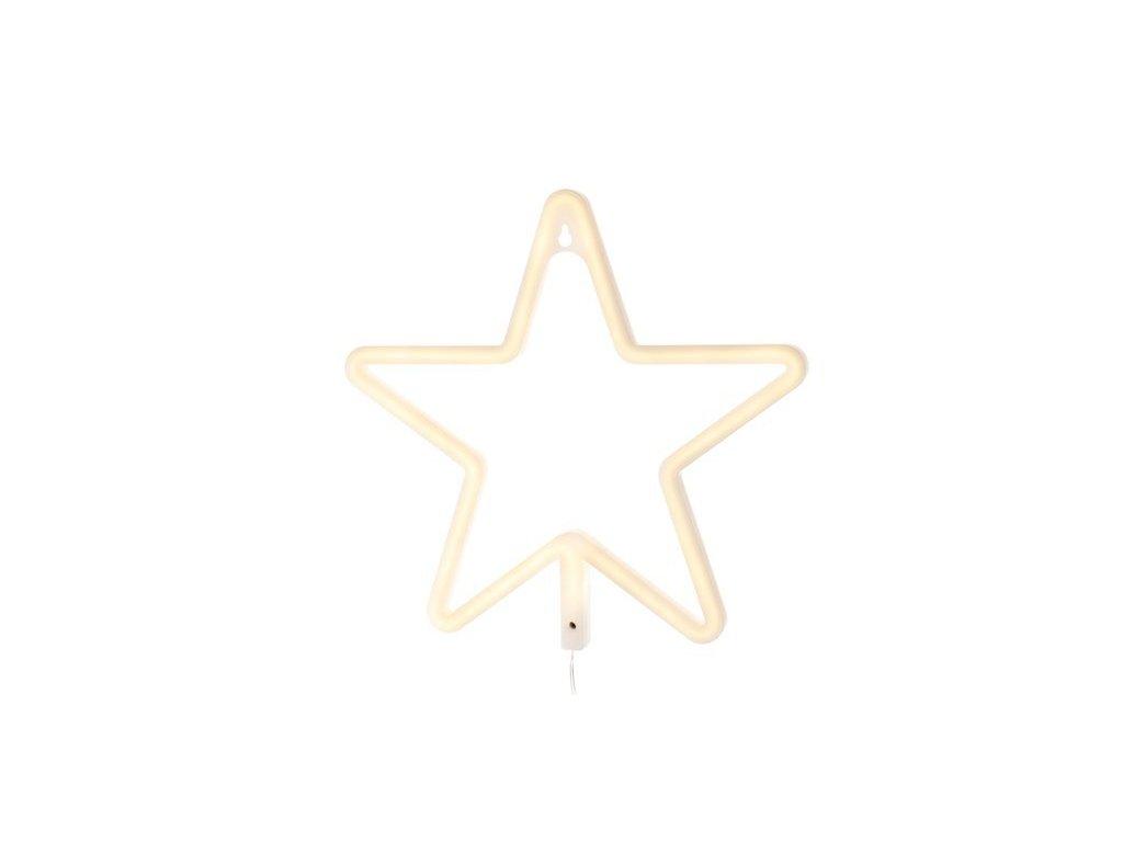 LED lampa hvězda 1