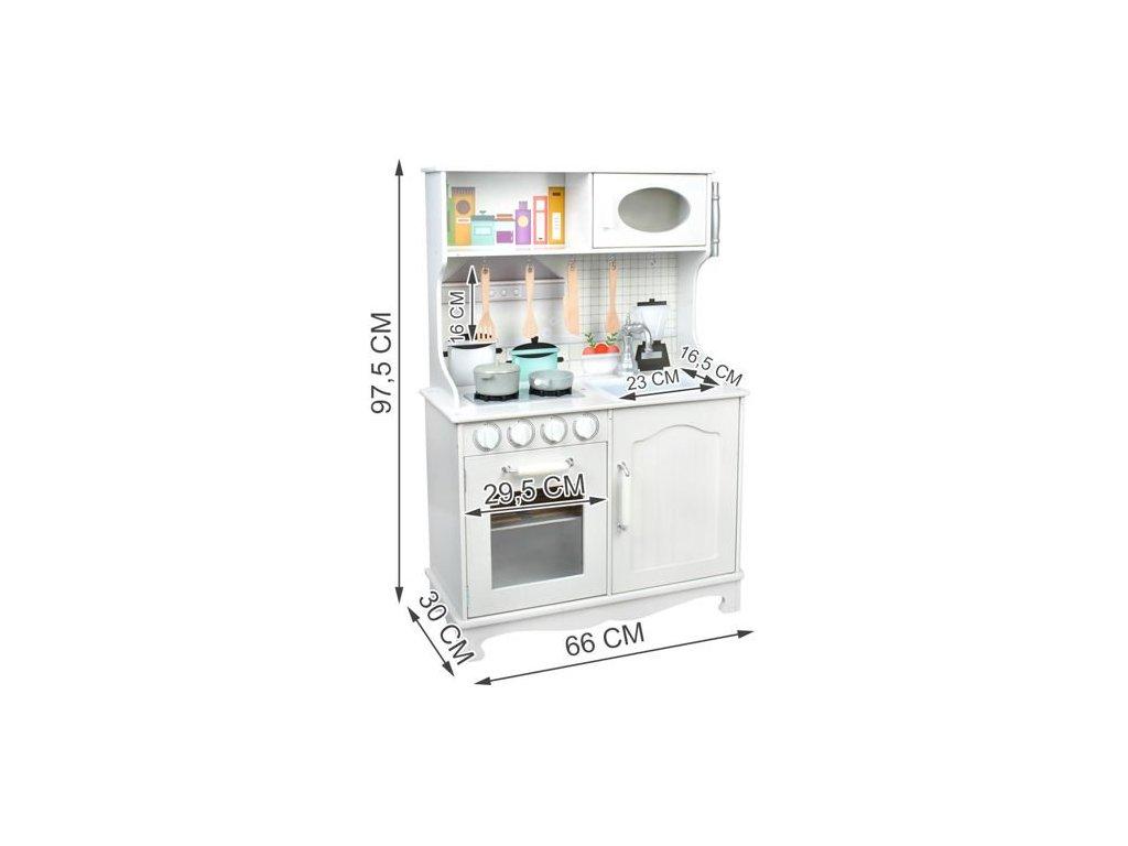 Dětská dřevěná kuchyňka xl