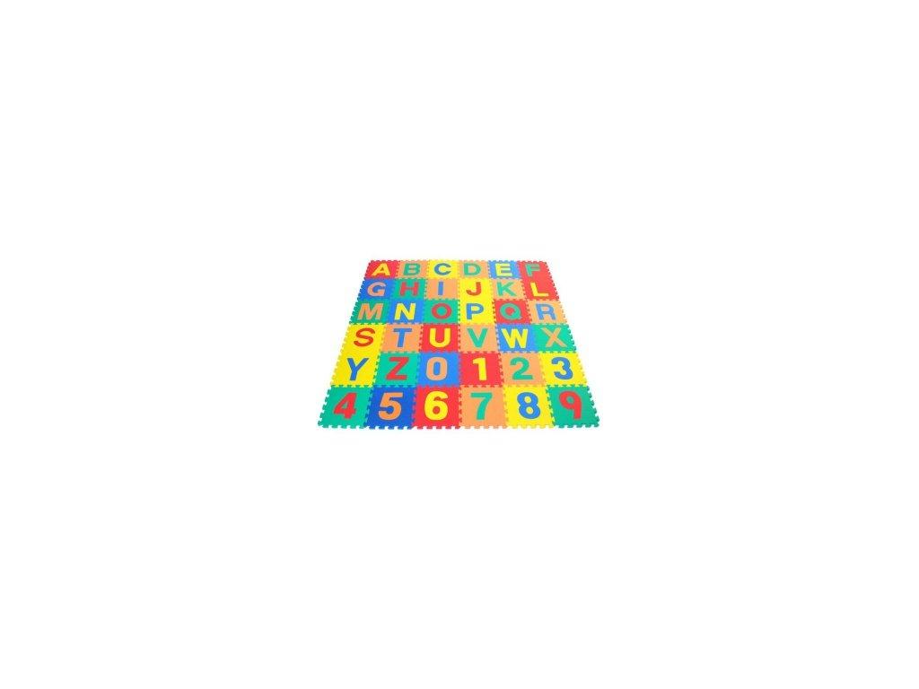 Pěnové puzzle písmenka