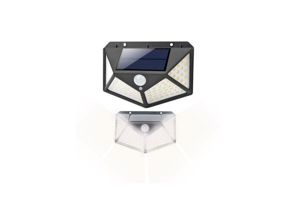 100 LED solární lampa 1