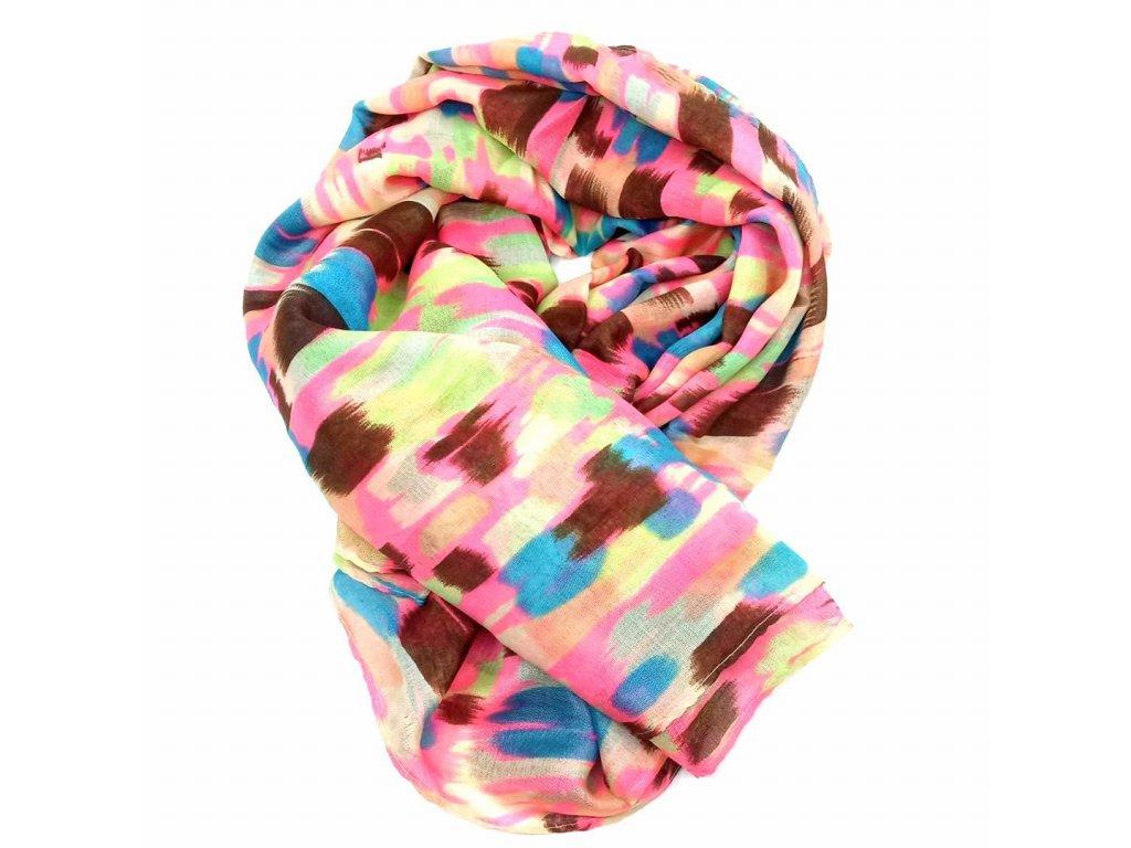 šátek mix barev