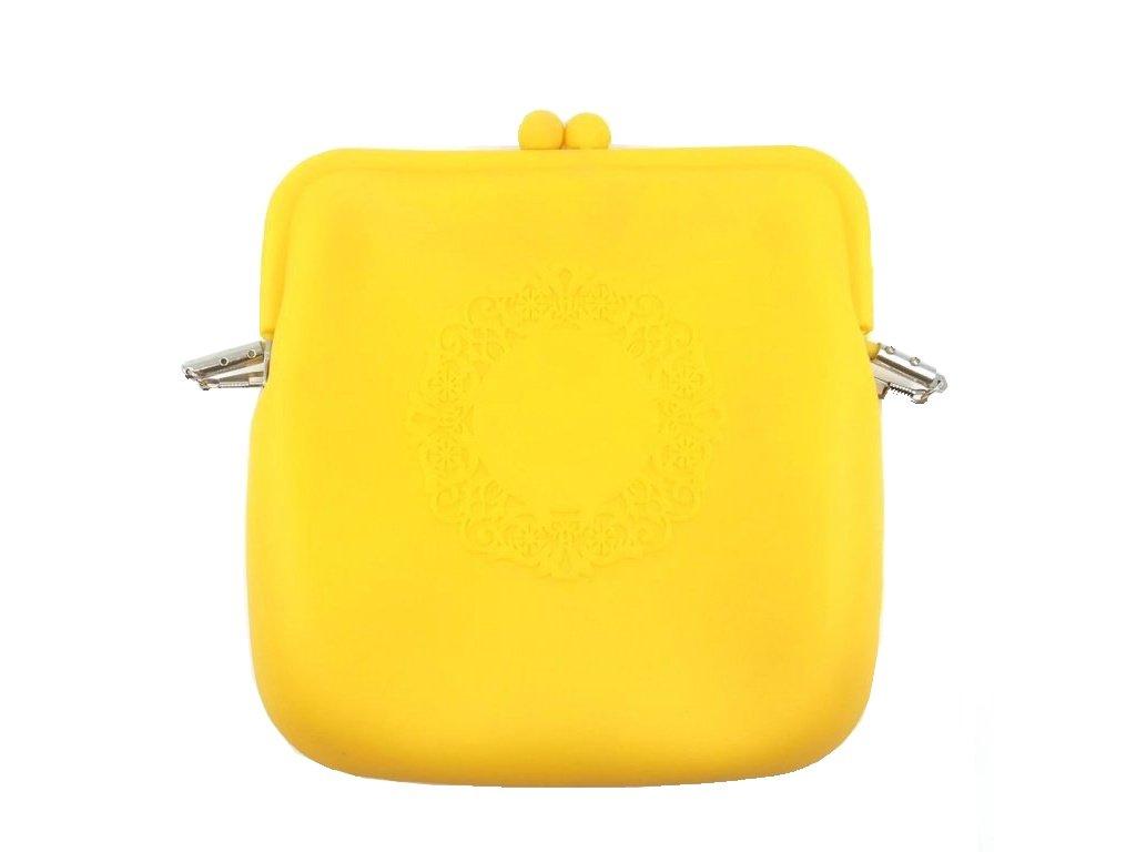 Kabelka žlutooranžová ornament