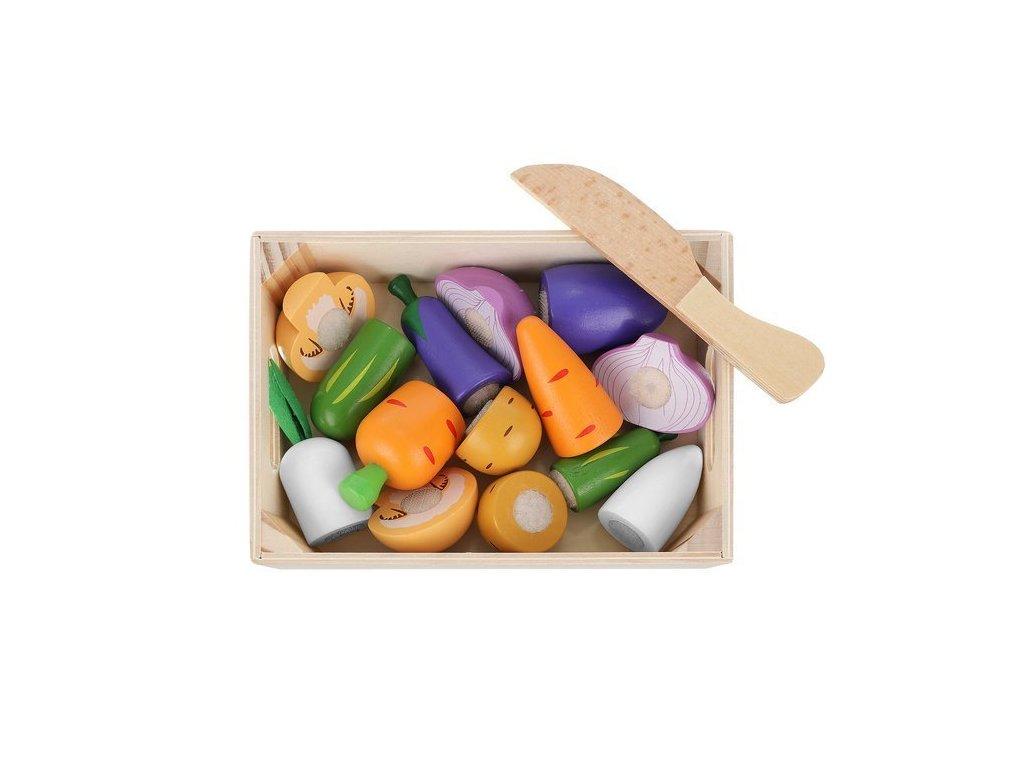 Dřevěná zelenina a ovoce 6