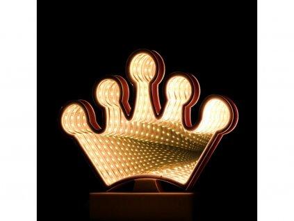 3D nekonečné světlo koruna