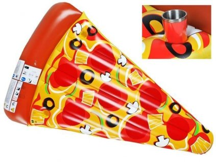 Nafukovací lehátko Pizza 1