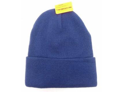 čepice modrá žíhaná (2)