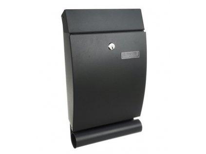 Poštovní schránka šedá 1