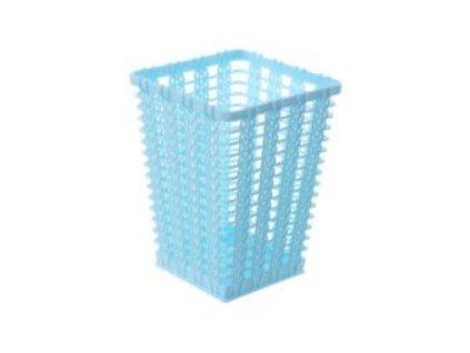 košík modrý