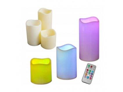 svíčka LED na ovládání