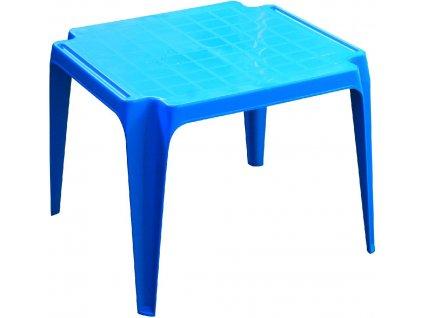 stoleček modrý