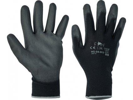 Pracovní rukavice FF BUNTING LIGHT černé