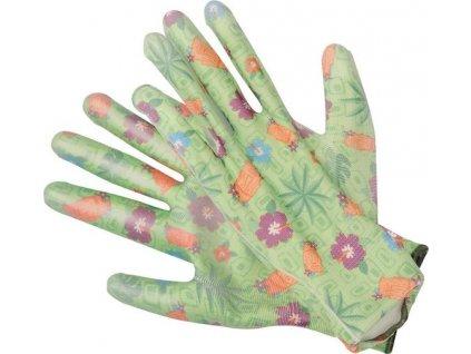 Dámské pracovní rukavice, velikost 8