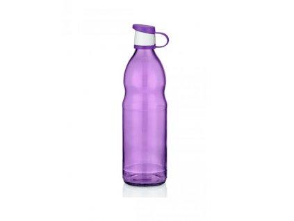 láhev na vodu fialová