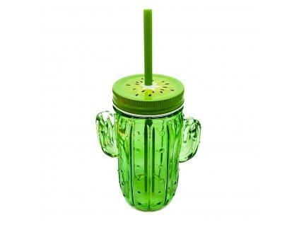 sklenice kaktus 2