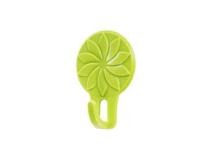háček květina zelený