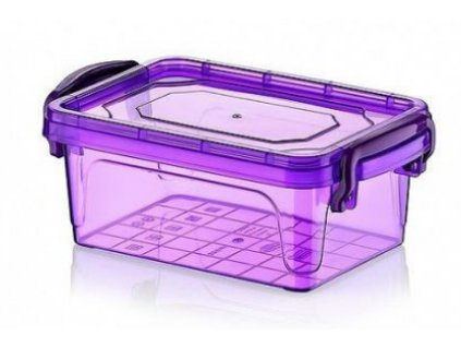 plastový box fialový