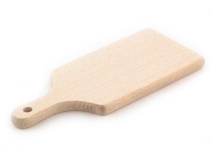 dřevěné prkénko s držadlem