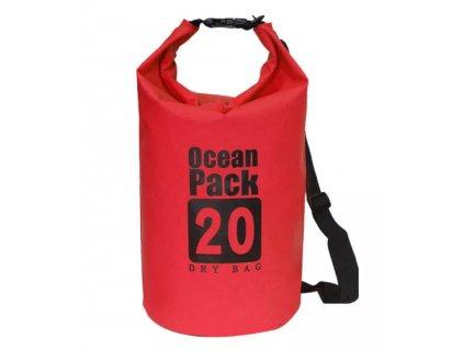 Ocean Pack 20L červený