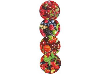 víčka 66 drobné ovoce 10 ks