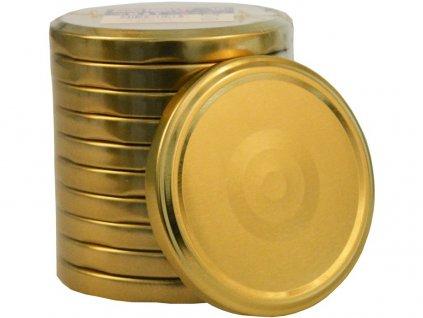 Zavařovací víčko twist 82 zlaté 10 ks