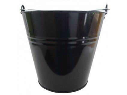 vědro lakované 10L černé
