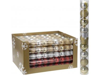 Vánoční koule 9 ks