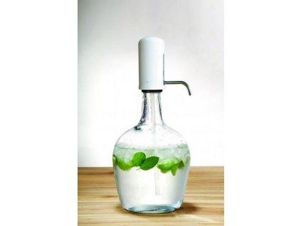 Skleněná nádoba s dávkovačem tekutin 2