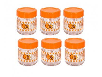 sklenice Apricot