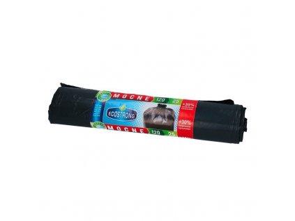 pol pm Worki Na Smieci LDPE 120L A10 Czarne z Tasma Ecostrong Sipeko 53047 1