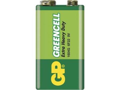 Baterie 9 Volt GP Greencell (6F22)