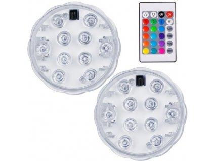 Voděodolné LED RGB světlo na dálkové ovládání 1
