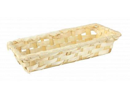 Bambusový košík 24 x 10 x 5 cm