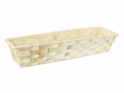 Bambusový košík 38 x 11 x 7 cm
